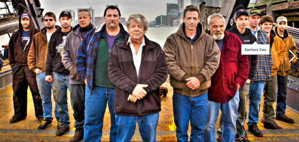 Sub Sea Research team, from left: Kevin LaChance, Nick Snyer, Alex Bezkoravainy, Joe , Brian Ryder, Greg Brooks, Gary Esper, Dave St. Cyr, Cody LaChance, Zach Cox, Nick Grass and Eddie Bourges.